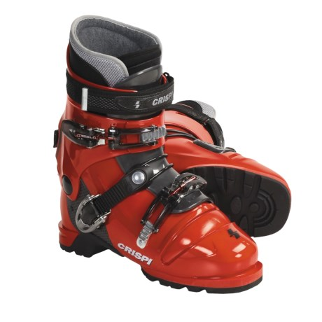 Crispi Diablo MS Dynamic AT Ski Boots (For Men and Women) in Red