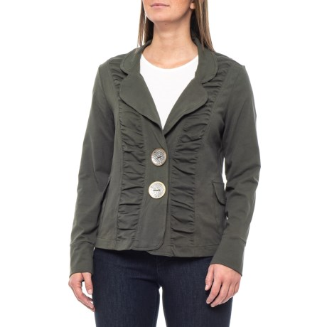 Image of Crocodile Rock Nirgan Ruched Jacket (For Women)