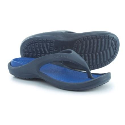 30c12a120ae3 Crocs Athens Croslite® Flip-Flops (For Men) in Navy Cerulean Blue