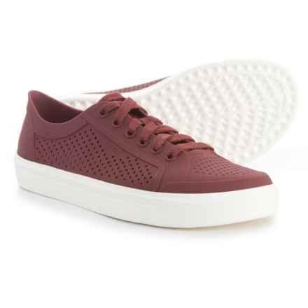 Crocs Citilane Roka Court Sneakers (For Women) in Garnet - Closeouts