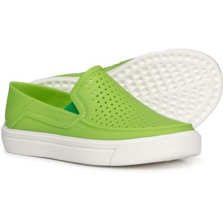 ece68876a6af Crocs Citilane Roka Shoes (For Boys) in Volt Green