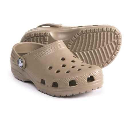 Crocs Classic Clogs (For Boys) in Khaki - Closeouts