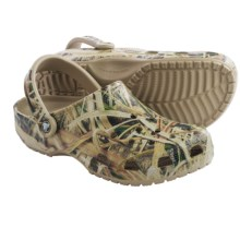 Crocs Classic Mossy Oak® Shadow Grass® Clogs (For Men) in Khaki - Closeouts