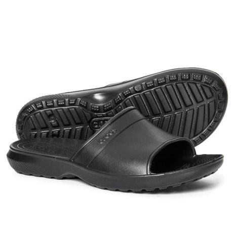 Crocs Classic Slide Sandals (For Men) - Save 37% c497ce34e3