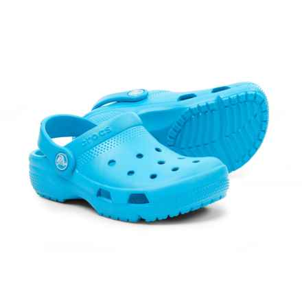 Crocs Coast Clogs (For Boys) in Electric Blue - Closeouts