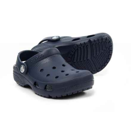Crocs Coast Clogs (For Boys) in Navy - Closeouts