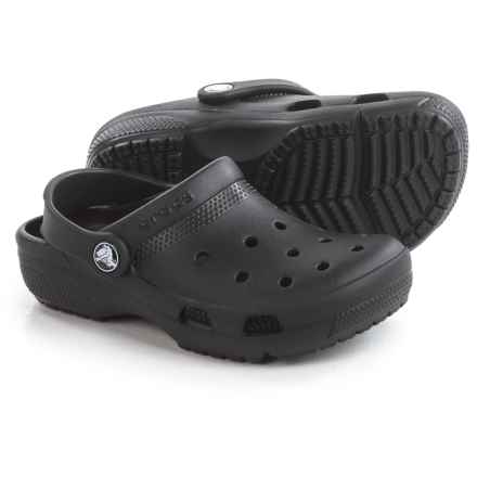 Crocs Coast Clogs (For Toddlers) in Black - Closeouts