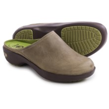 Crocs Cobbler 2.0 Clogs - Leather (For Women) in Taupe/Mahogany - Closeouts