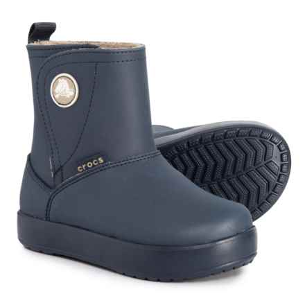 97287f8fced Crocs ColorLite PS Boots - Waterproof (For Toddler and Little Boys) in Navy