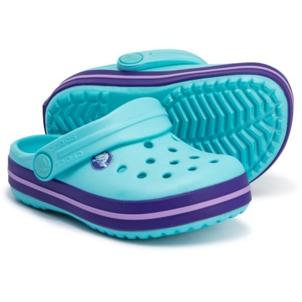 34358313e Crocs Crocband Clogs (For Boys) in Blue