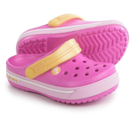 Crocs Crocband ii.5 Clogs (For Girls) in Party Pink/Ballerina Pink