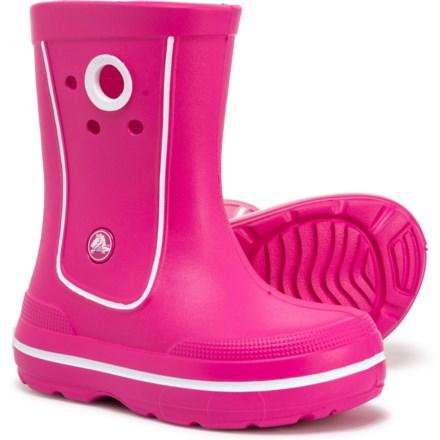 df7e079ba663 Crocs Crocband Jaunt Rain Boot - Waterproof (For Girls) in Fuchsia -  Closeouts