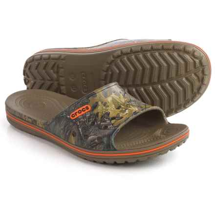 Crocs Crocband LoPro Realtree® Xtra® Slide Sandals (For Men and Women) in Realtree Xtra - Closeouts