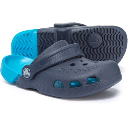 c6868980a Crocs Electro Clogs (For Boys) in Navy Electric Blue - Closeouts