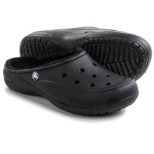 Crocs Freesail Lined Clogs (For Women) in Black/Black - Closeouts