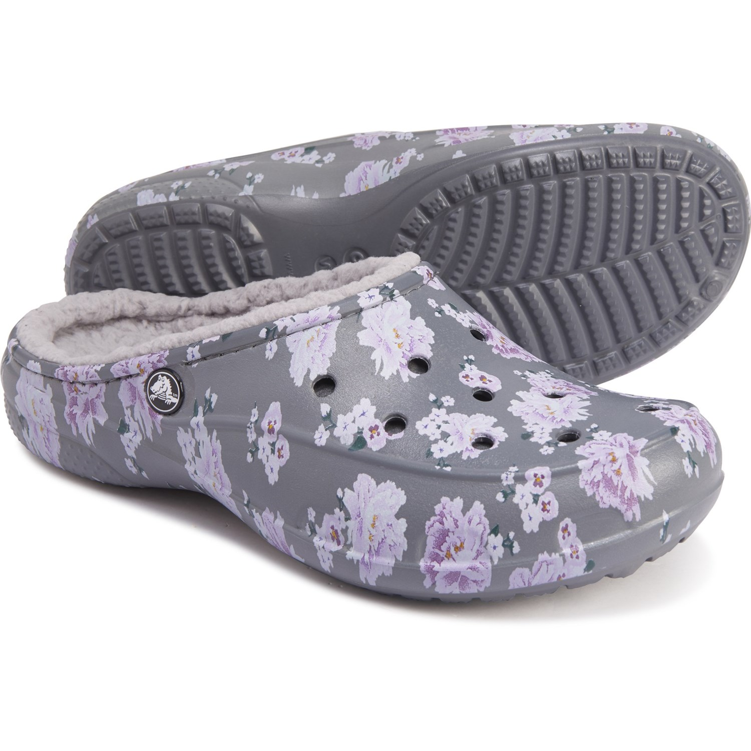 Crocs Freesail Printed Lined Clogs For Women Save 50