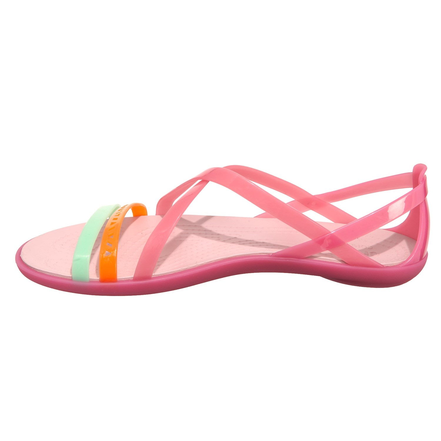 3f11bb2daf6e Crocs Isabella Cutout Strappy Sandals (For Women) - Save 57%