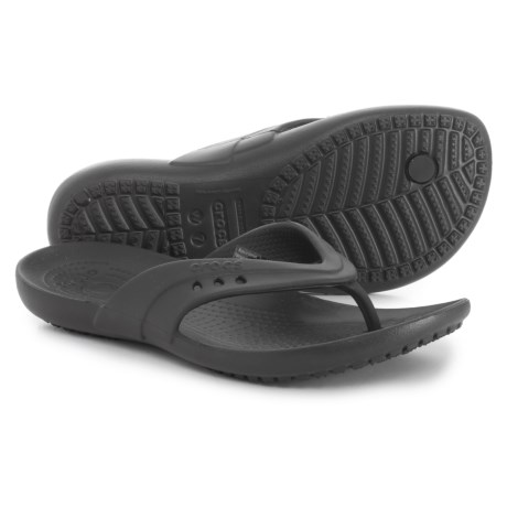 Crocs Kadee Flip-Flops (For Women) in Black