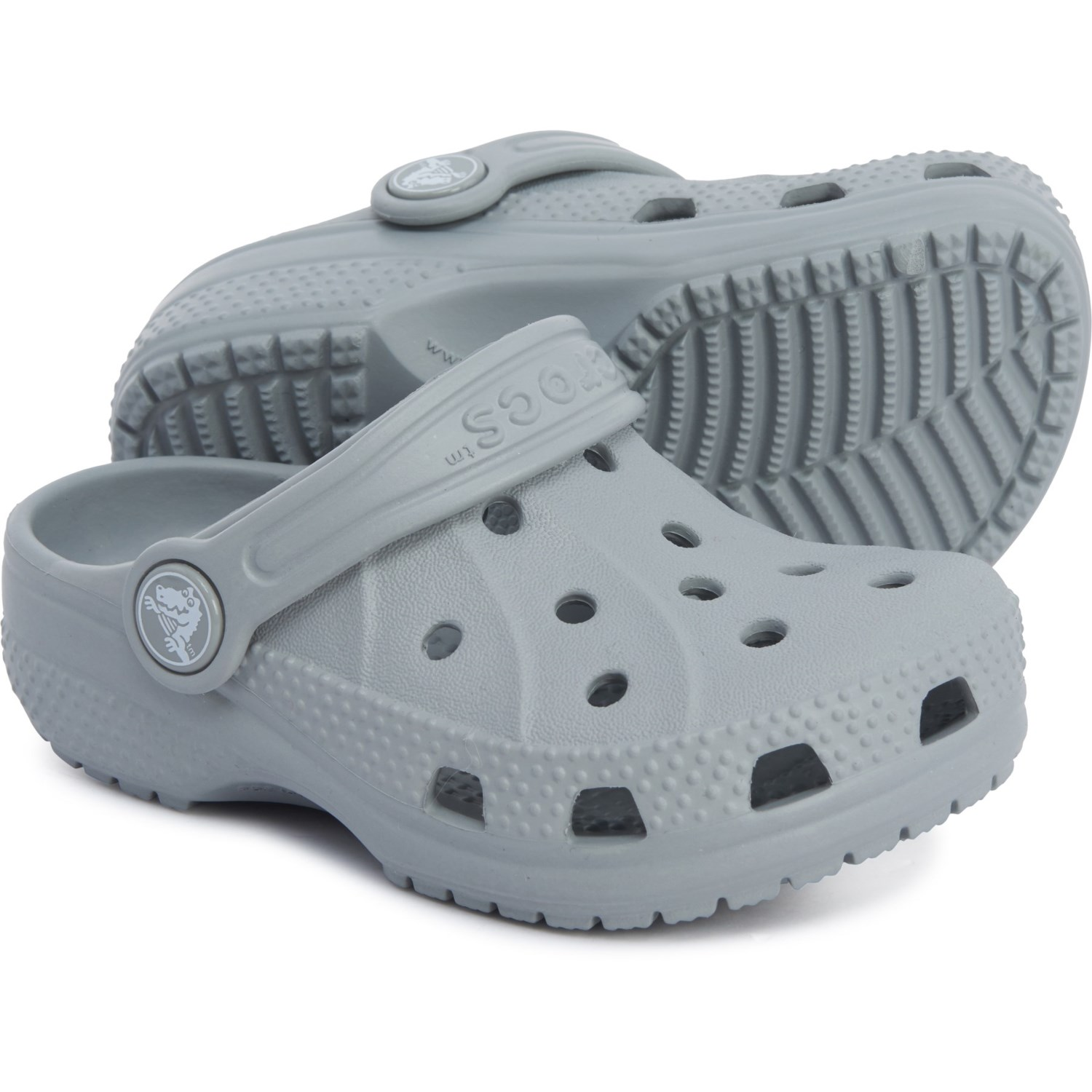 newest new arrival world-wide renown Crocs Light Grey Ralen Clogs (For Boys) - Save 40%
