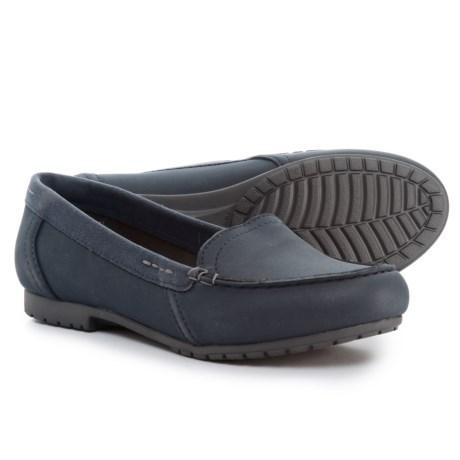 Crocs Marin ColorLite Loafers (For Women) in Navy/Graphite