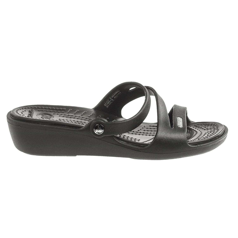 89c7e1d25031af Crocs Patricia Wedge Sandals (For Women) - Save 52%