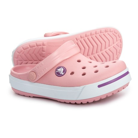 4ff8bec6536f Crocs Petal-Dahlia Crocband Clogs (For Girls) in Petal Dahlia