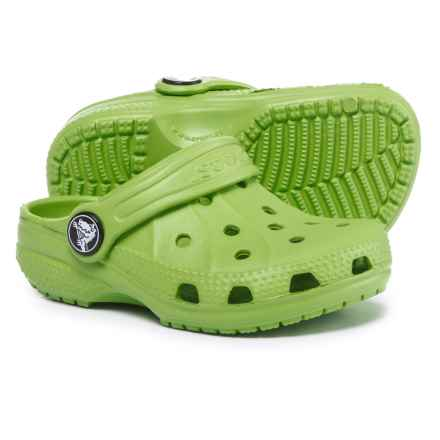 Crocs Ralen Clogs (For Boys) in Volt Green - Closeouts