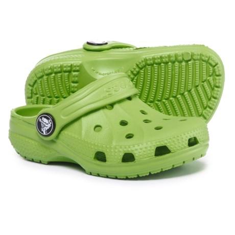 Crocs Ralen Clogs (For Boys) in Volt Green