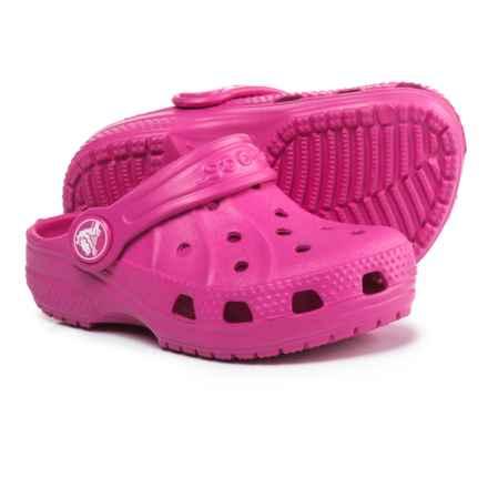 Crocs Ralen Clogs (For Girls) in Fuchsia - Closeouts