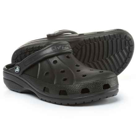 Crocs Ralen Clogs (For Men and Women) in Black - Closeouts