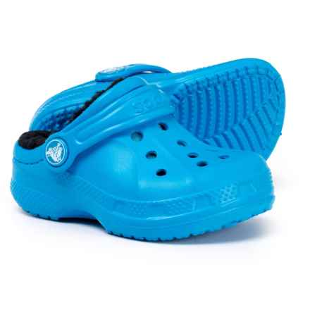 cb7fc1a74 Crocs Ralen Lined Clogs ( For Toddler and Little Boys) in Ocean Black
