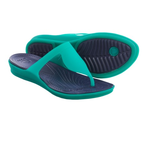 Crocs Rio Flip Flops (For Women)