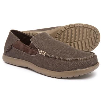 6e04685a2fb4c Crocs Santa Cruz 2 Luxe Loafers (For Men) in Espresso Walnut