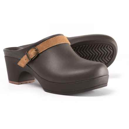 Crocs Sarah Clogs - Slip-Ons (For Women) in Espresso - Closeouts