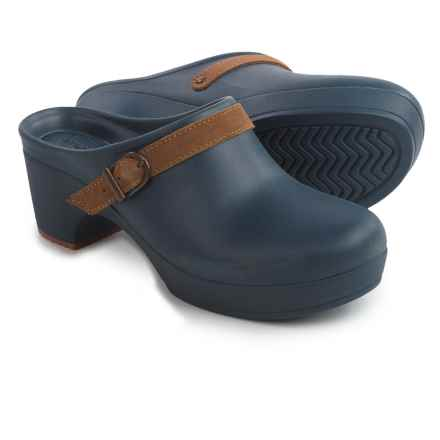 Crocs Sarah Clogs - Slip-Ons (For Women) in Navy - Closeouts