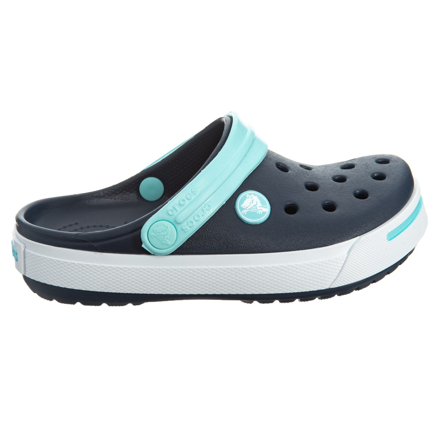 c12830295c Crocs Sea Blue-Lime Crocband II Clogs (For Boys) - Save 42%