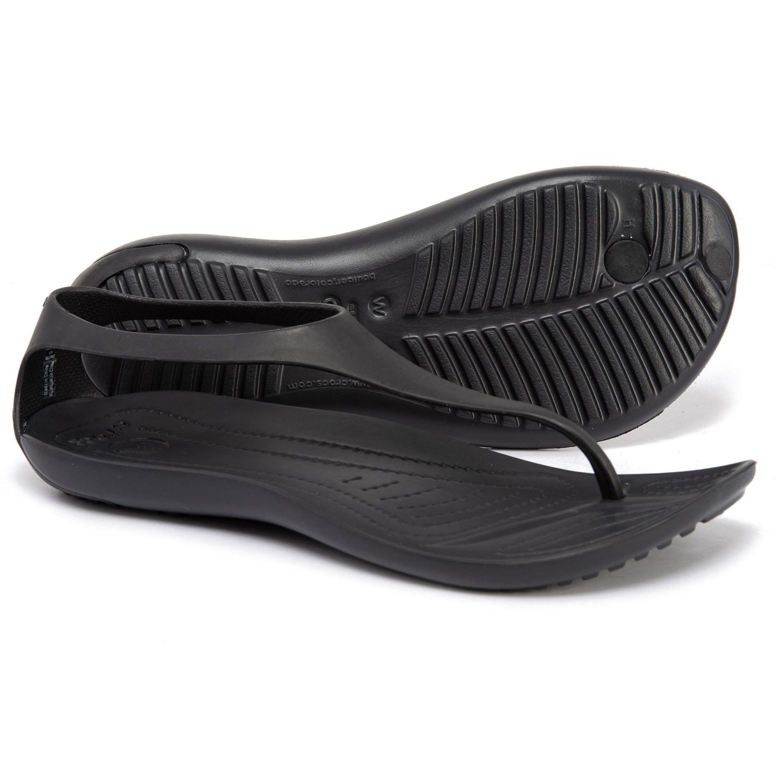 5b2766ae363 Crocs Sexi Flip-Flops (For Women) - Save 50%