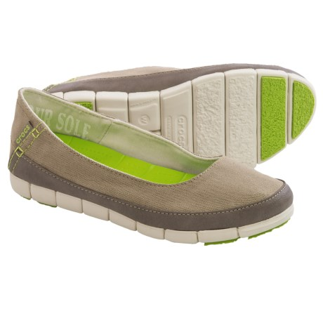 Crocs Stretch Sole Shoes Flats (For Women)