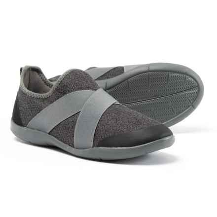 Crocs Swiftwater Cross-Strap Static Sneakers (For Women) in Slate Grey - Closeouts