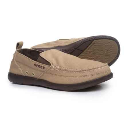 Crocs Walu Loafers (For Men) in Khaki/Espresso - Closeouts
