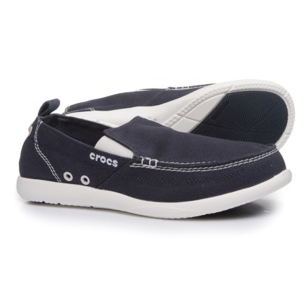 8845dc6f87d44 Crocs Walu Loafers (For Men) in Navy White - Closeouts