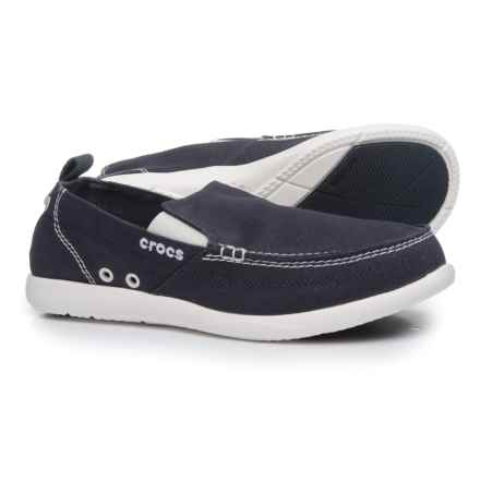 Crocs Walu Loafers (For Men) in Navy/White - Closeouts