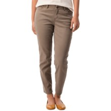 Crop Pants (For Women) in Taupe - 2nds