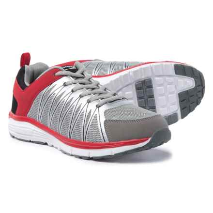 Crossport Montecito Bay Cross-Training Shoes (For Men) in Gray/Black/Red - Closeouts