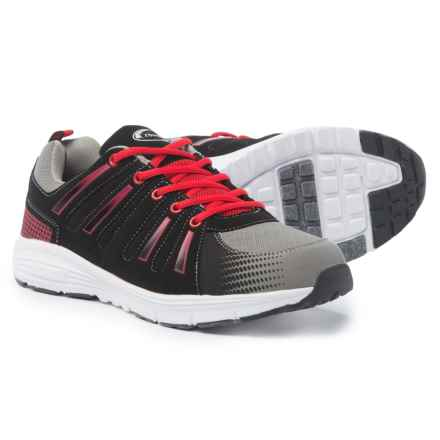 Crossport Newport Bay Cross-Training Shoes (For Men) in Black/Red/