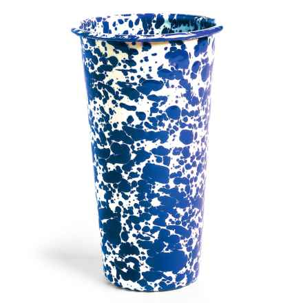 Crow Canyon Enamelware Tumbler Glass - 26 fl.oz. in Blue - Closeouts