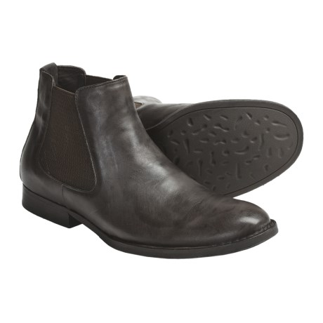 Crown by Born Carmichael Boots - Leather (For Men) in Dark Brown Veg