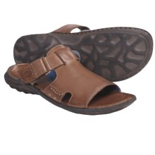 Crown by Born Damian Sandals - Leather (For Men) in Whiskey Leather - Closeouts