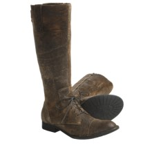 Crown by Born Gilmore Boots - Leather (For Women) in Brown Textured - Closeouts