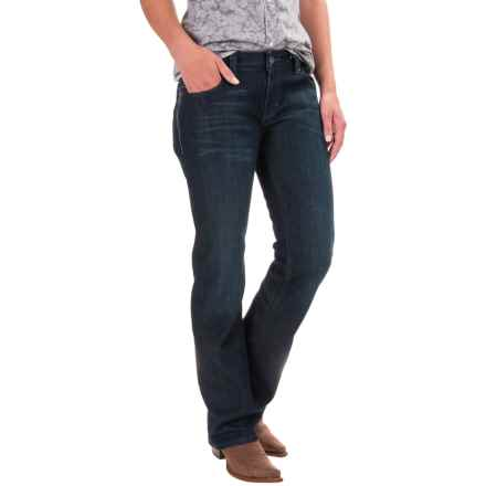 Cruel Denim Blake Slim Fit Jeans - Low Rise, Bootcut (For Women) in Dark Wash - Closeouts